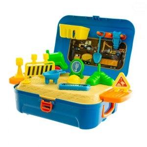 Euro Baby Silniční práce v plastovém kufříku