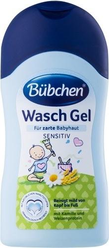 Bübchen Dětský mycí gel - cestovní balení