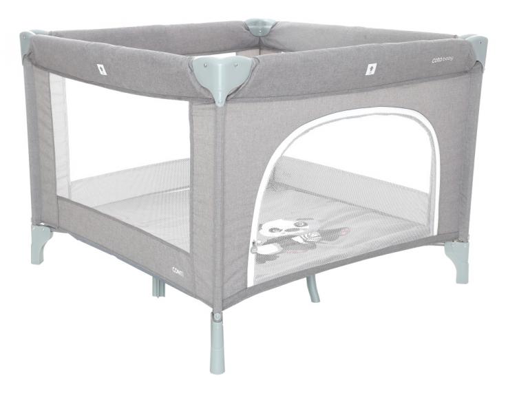 Coto Baby Skládací ohrádka Conti - světle šedá/melange - PANDA