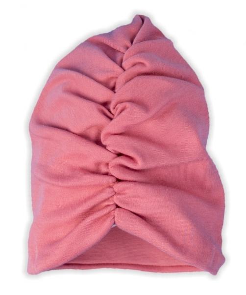 Kojenecká čepice Nicol Forest - růžová, vel. 80/86
