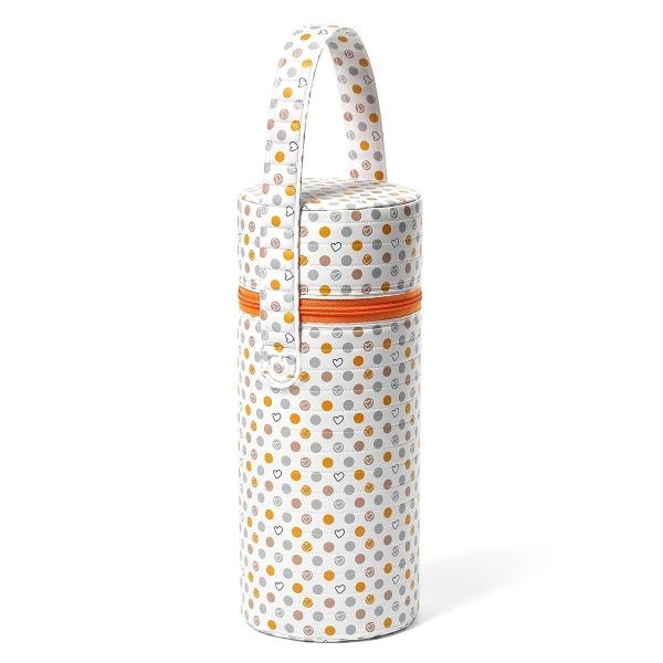 BabyOno Termobox na kojeneckou láhev - Puntíky