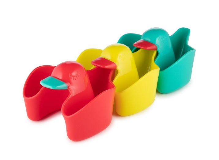 Canpol babies Hračka do vody Kachničky 3ks - různé barvy