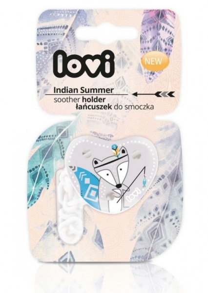 Lovi řetízek na dudlík s klipsou Indian Summer - boy