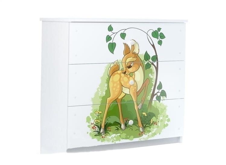 BabyBoo Komoda s motivem Bambi