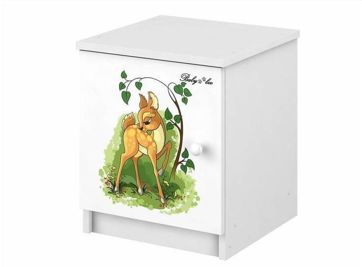 BabyBoo Noční stolek s motivem Bambi