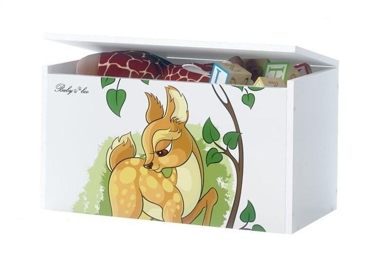 BabyBoo Box na hračky s motivem Bambi