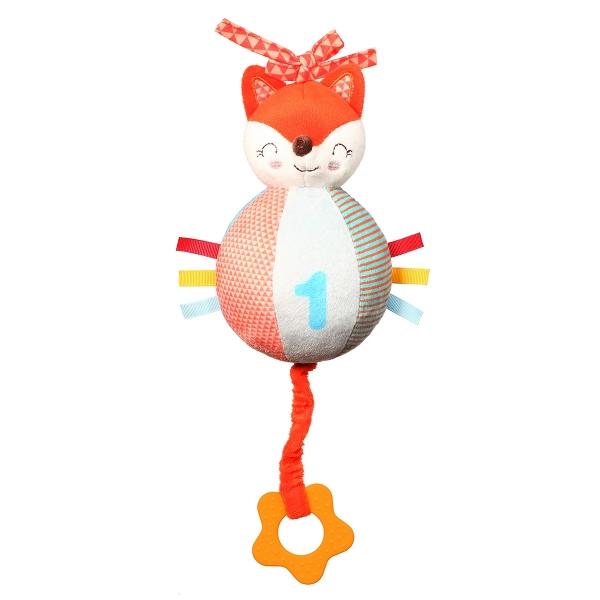 BabyOno Plyšová závěsná hračka s melodií Fox Vincent
