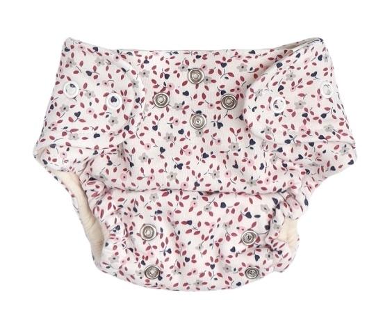 Mamatti Látková plenka EKO sada - kalhotky + 2 x plenka, vel. 3 - 8 kg, Mouse