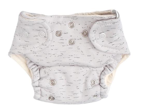 Mamatti Látková plenka EKO sada - kalhotky + 2 x plenka, vel. 5 - 14 kg, Star