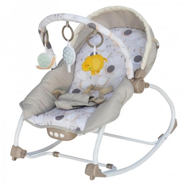 BABY MIX Lehátko pro kojence  s vibrací a hudbou - Bubliny.