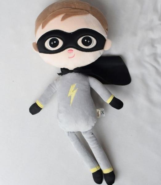 Hadrová panenka Metoo Super Boy - šedá