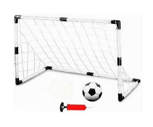 Fotbalová sada, branka, míč a pumpička