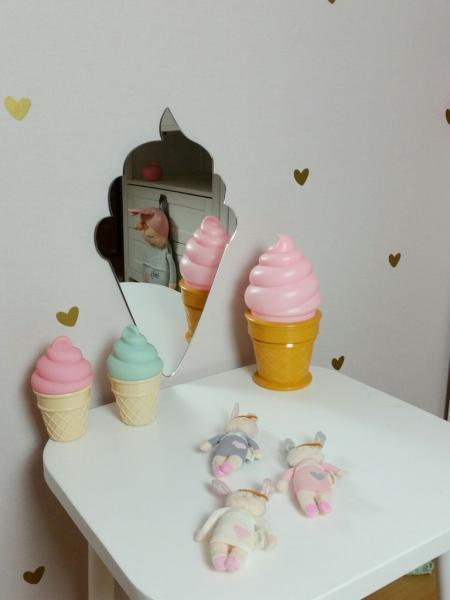 Zrcadlo Metoo na zeď - Zmrzlina