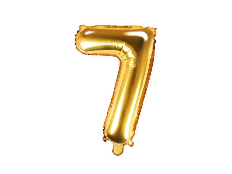 Nafukovací balónek číslo 7 (35 cm)