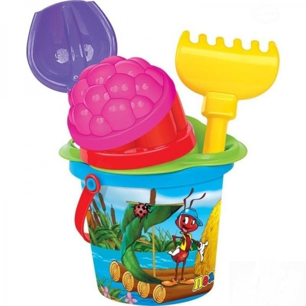 Polesie Sada na písek - kbelík s doplňky, 12m+