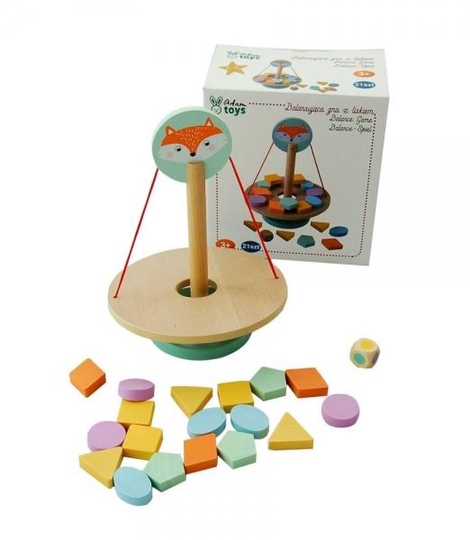 Adam Toys Balanční hra s tvary - liška