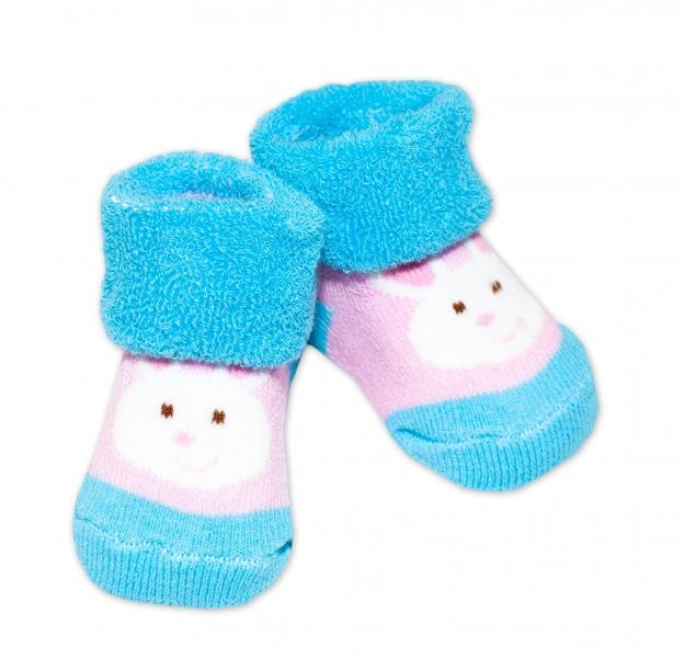 Kojenecké ponožky, 0 - 6 měsíců, Bobo Baby - Králíček