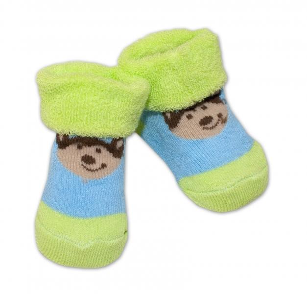 Kojenecké ponožky, 0 - 6 měsíců, Bobo Baby - Pejsek