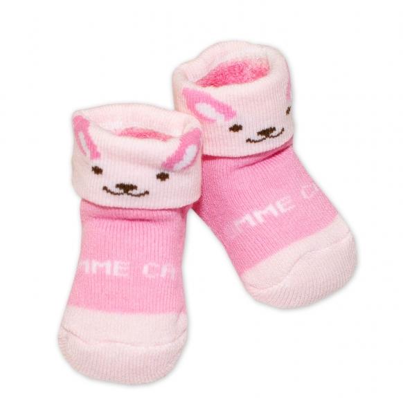 Kojenecké ponožky, 0 - 6 měsíců, Bobo Baby - Kočička