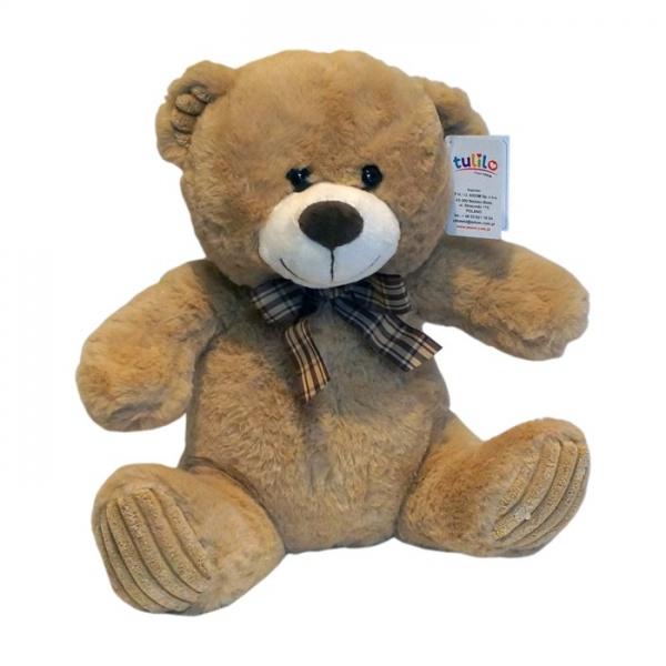 Plyšový medvídek Tulilo, 30 cm - sv. hnědý