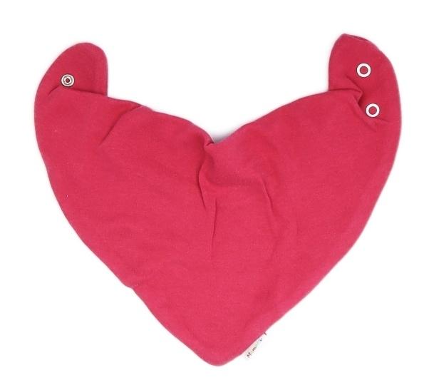 Mamatti Dětský šátek na krk Mouse - červený