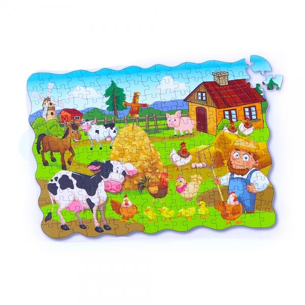 Puzzle farma 208 ks 90x64 cm