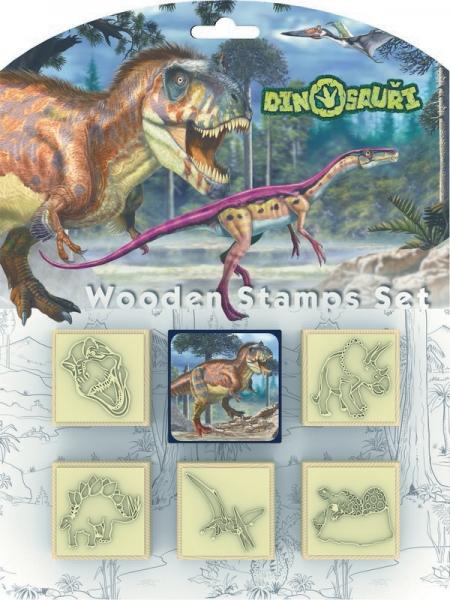 Razítka 5+1 Dinosauři