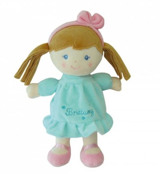 Smily Play, Hadrová panenka Brittany se sv. hnědými vlásky, 25 cm