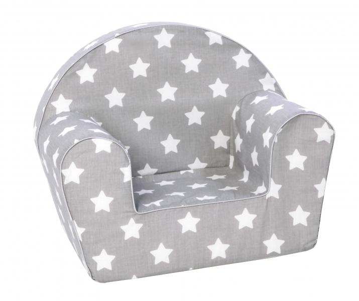 Delsit Dětské křesílko, pohovka - Baby Star, šedé