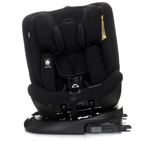 Autosedačka 0 - 36 kg Isofix Hevelius 2020 s 360 ° otáčením - black Melange