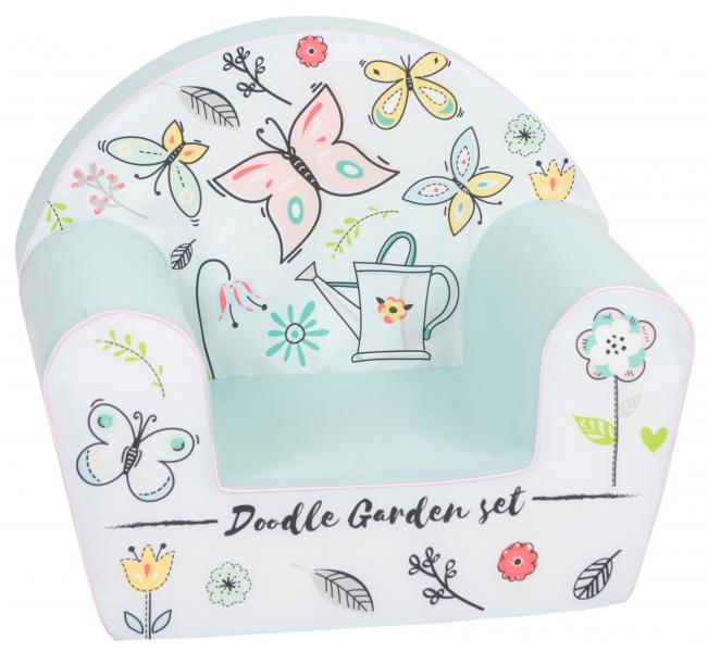 Delsit Dětské křesílko, pohovka - Motýlková zahrada