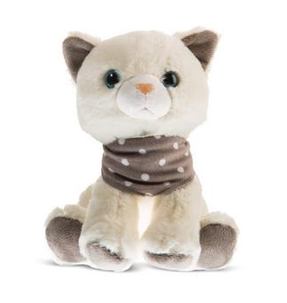 Plyšová hračka Tulilo Kočička, 22 cm - krémová