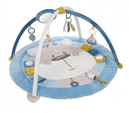 Canpol Babies,  Edukační hrací podložka Pastel friends - šedá