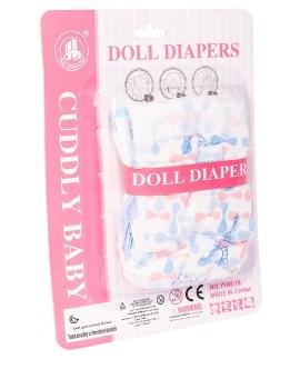 Plenky pro panenky Baby Pampers, 2ks v balení