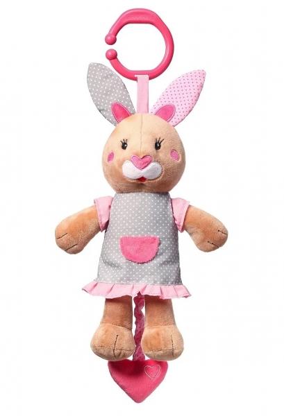 BabyOno Plyšová hračka s melodii Bunny Julia