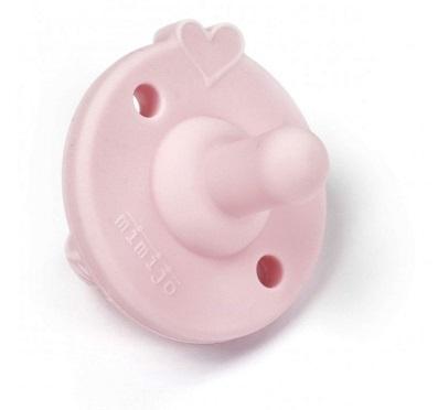 Mimijo Silikonový dudlík - růžový