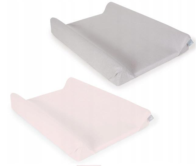Ceba baby Potah na přebalovací podložku 2ks, růžová, šedá, 50x70-80cm
