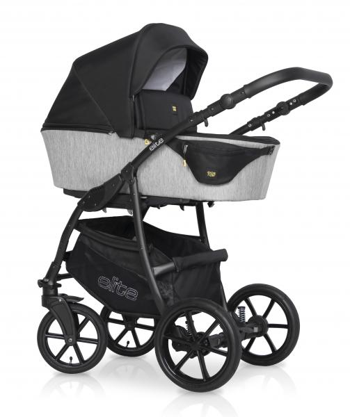 Kombinovaný dětský kočárek 2 v 1 Expander Elite 2020, silver