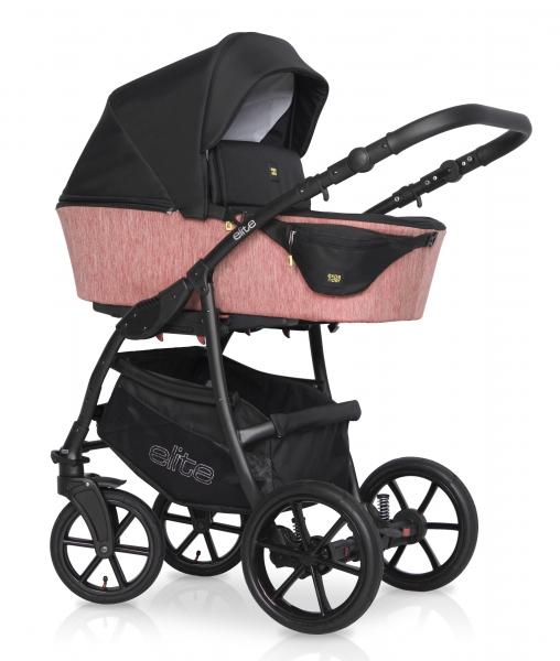 Kombinovaný dětský kočárek 2 v 1 Expander Elite 2020, rose