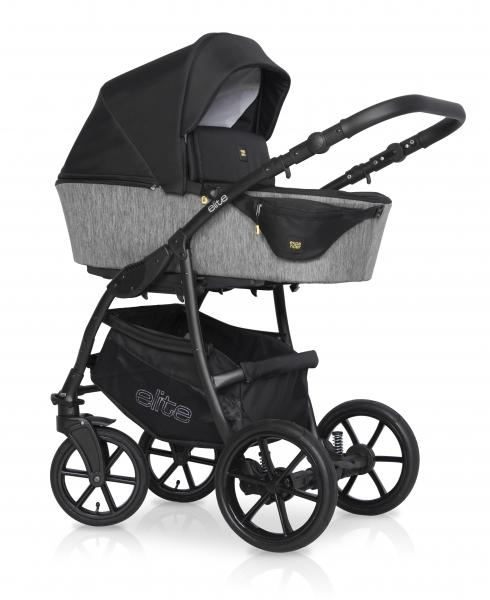 Kombinovaný dětský kočárek 2 v 1 Expander Elite 2020, carbon