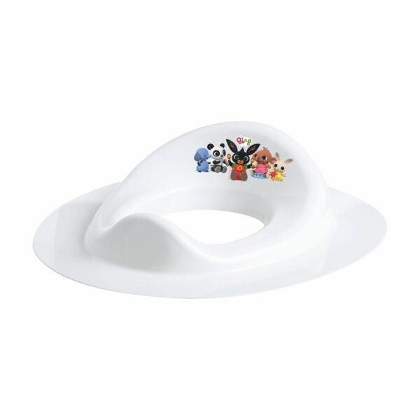 Maltex Adaptér - treningové sedátko na WC -  BING - bílé B1