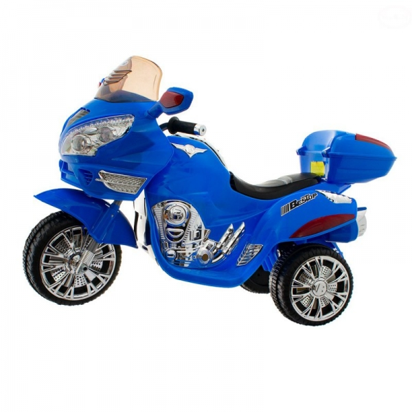 Euro Baby Akumulatorový motocykl - Modrý
