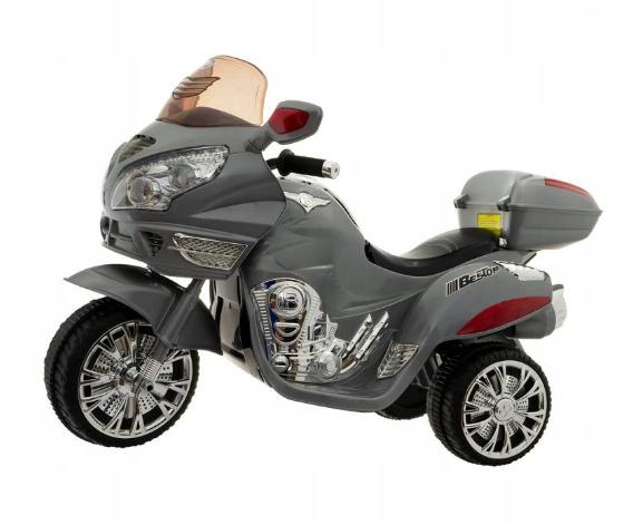 Euro Baby Akumulatorový motocykl - šedý