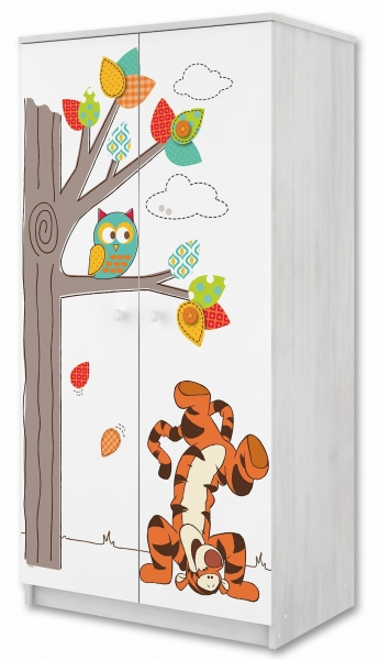 BabyBoo Skříň s motivem Medvídek PÚ