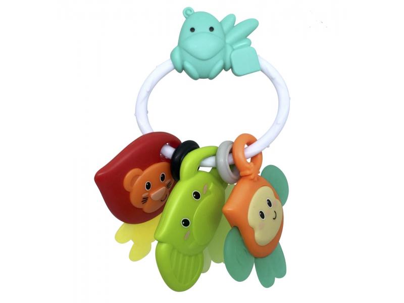 Infantino Chrastítko s kousátkem - Safari