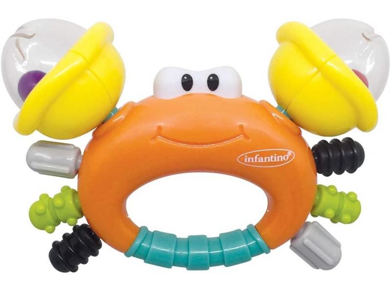 Infantino Chrastítko s kousátkem - Krab
