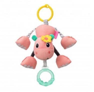 Infantino Závěsná plyšová hračka - Hroch