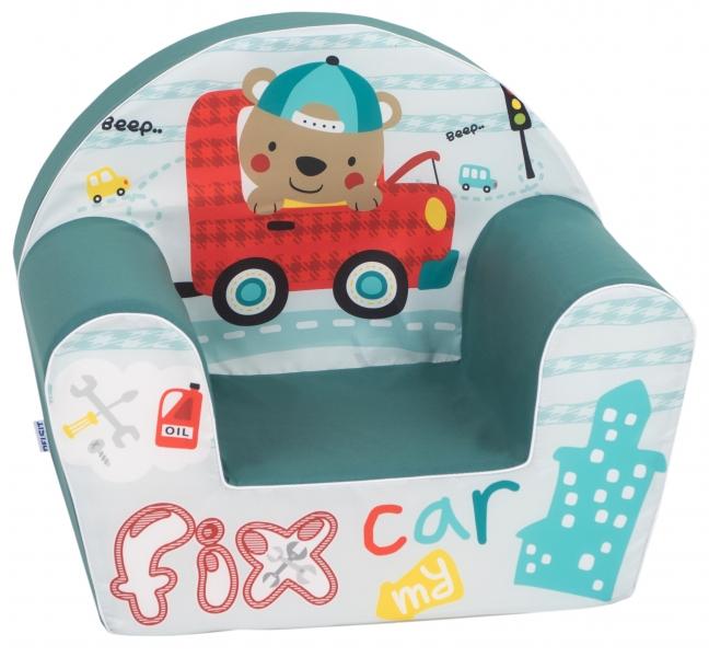 Delsit Dětské křesílko, pohovka - Fix Car