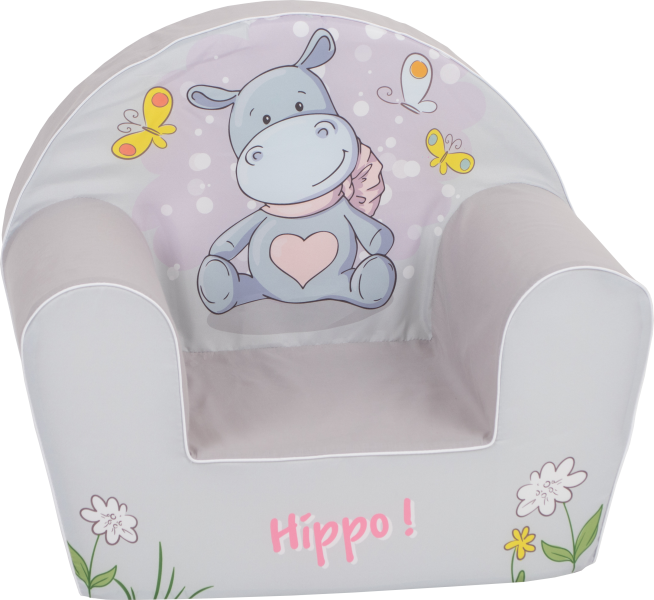 Delsit Dětské křesílko, pohovka - Happy Hippo