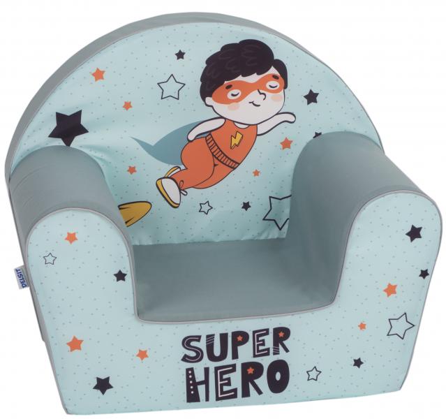 Delsit Dětské křesílko, pohovka - Super Hero